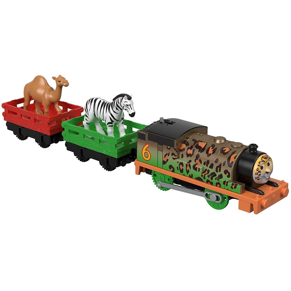 Thomas Friends TrackMaster Motorized Animal Party Percy Train Engine