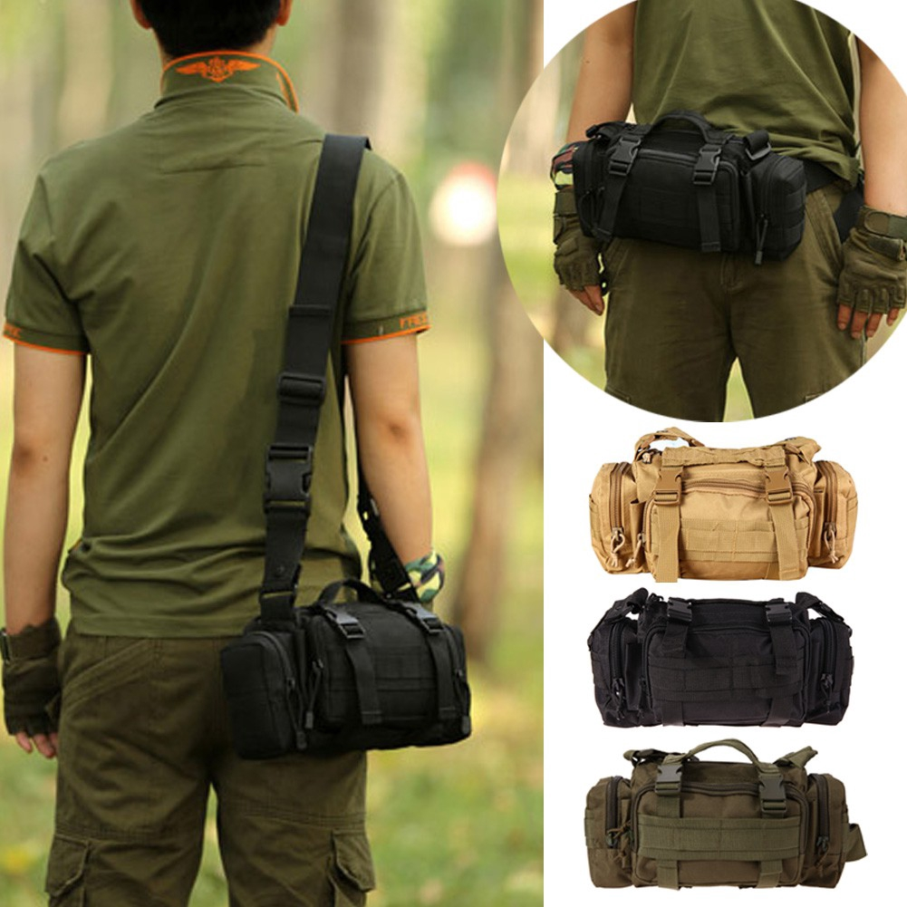 1a054815 Army Tactical Sling Bags beg [FAS] Military Tactical Bag Waist Pack