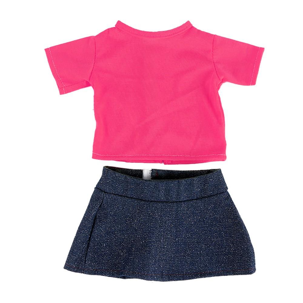 20X Pink Hangers for s Dolls/' Clothes Accessories Plastic Hangers Deco ER