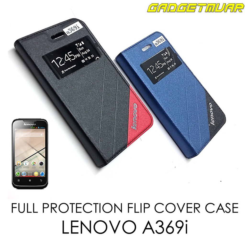 separation shoes 15b2c 6d456 [READY STOCK] Full Cover Protection Flip Cover Case for LENOVO A369i