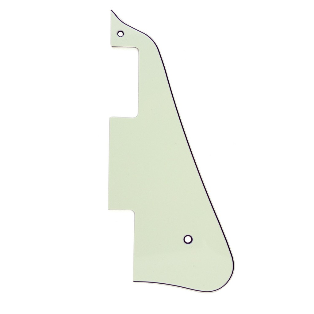 Musiclily Guitar Pickguard for China Made Epiphone Les Paul Standard, 3Ply  Ivory