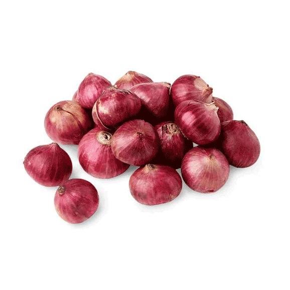Onion Small/Bawang Kecil (500G+-/PKT)