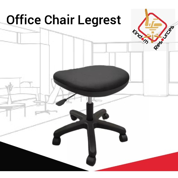 Office Chair Leg Rest / Office Chair Components Accessories Stool For Barber Shop / Kerusi Pejabat