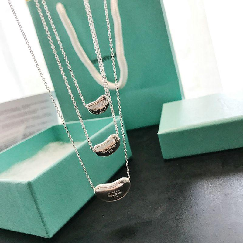 ab0638c23 ProductImage. ProductImage. Tiffany Peas Necklace 925 Sterling Silver ...