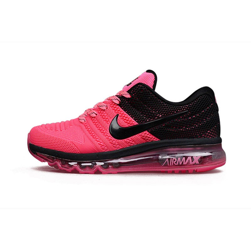 Aparte apretón condado  Womens Nike Air Max 2017 Pink Black   Shopee Malaysia