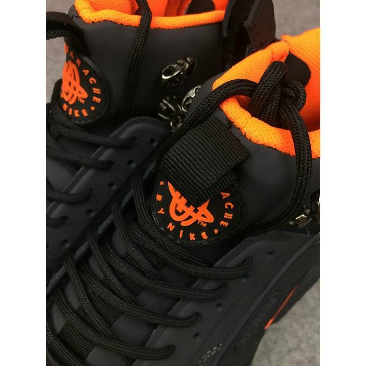 Nike Air Huarache NIKE x ACRONYM Black Yellow men sneakers shoes running