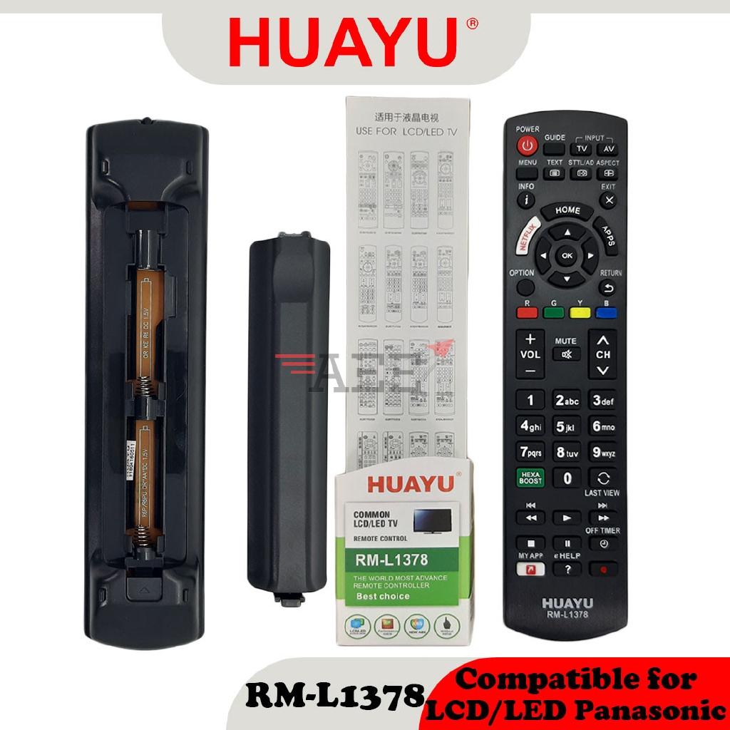 Huayu RM-L1378 Multi LCD TV Remote Control (Compatible: Panasonic)
