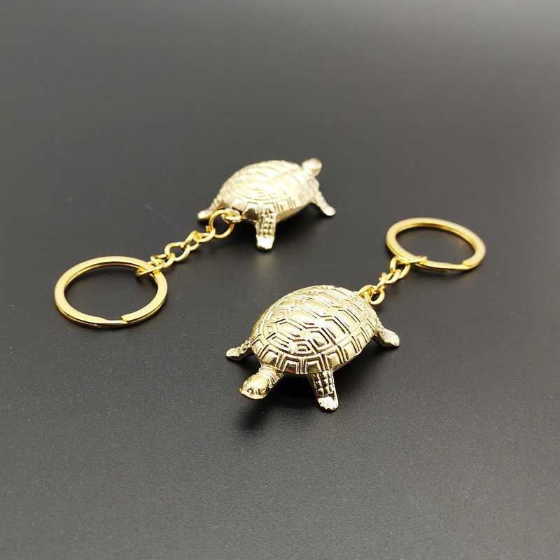 Sensoji Temple 5cm Lucky Small Golden Pendant Pendant Decoration Golden  Turtle Auspicious Lucky Keychain