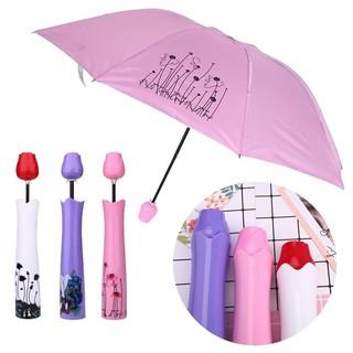 772f59e98 Rose Vase Anti UV Sun Rain Umbrella Folding Compact 3 Fold Ladies Fashion  Lovely | Shopee Malaysia
