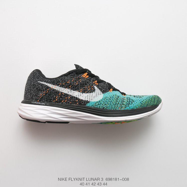 premium selection 1695a 6fecf 🔥READY STOCK🔥Nike Flyknit Lunar men's shoes comfy running shoes gray-blue  luna 40-44