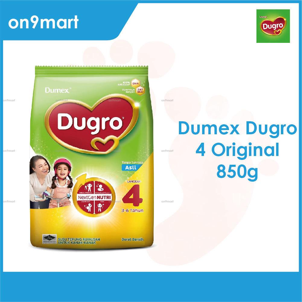 Dumex Dugro 4 Regular 3-6 Years 850g Milk Powder
