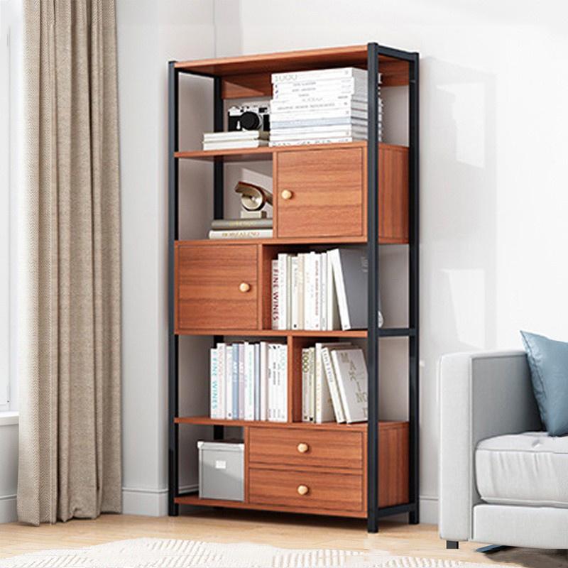 GDeal Multi Layer Large Capacity Bookcase Living Room Shelf Book Organizer Storage Rack