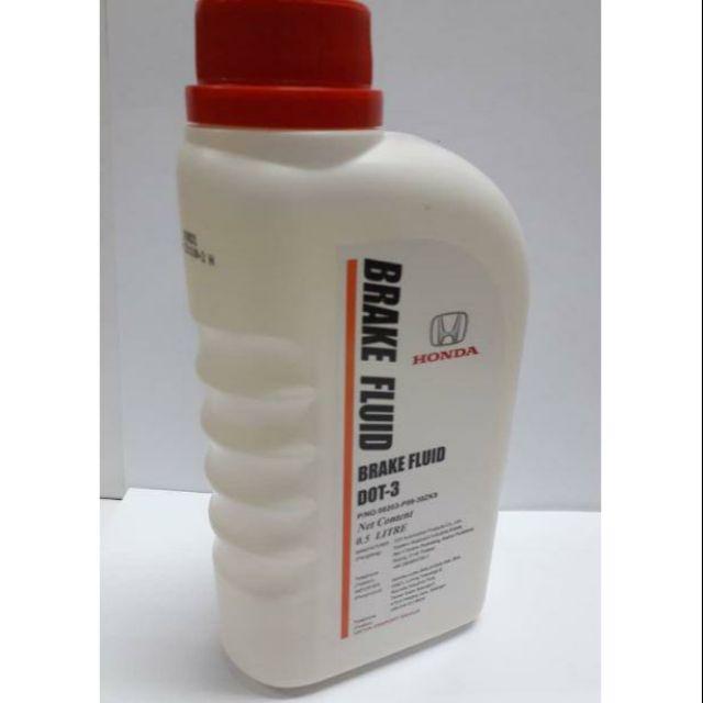 ORIGINAL HONDA GENUINE BRAKE OIL FLUID DOT 3 (500ML)