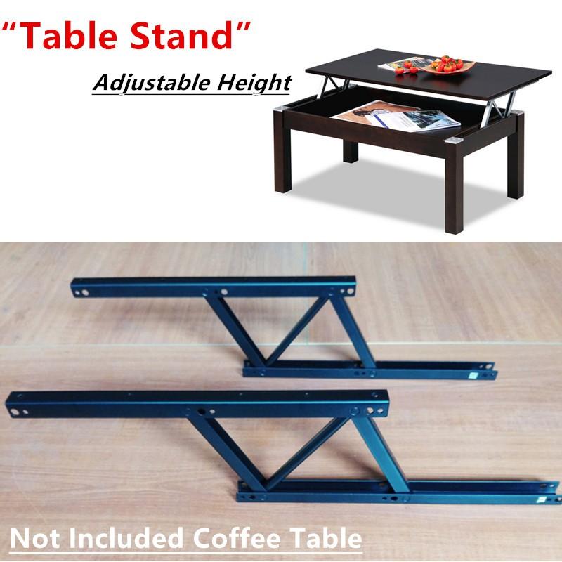 furniture mechanism steel metal folding table stand lift top coffee