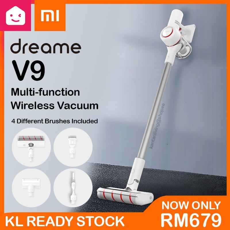 Xiaomi Mi Home DREAME V9 Vacuum Cleaner Handheld Cordless Stick | KANTAN