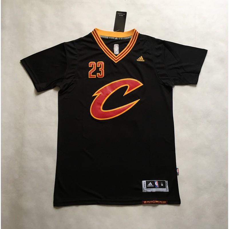 lebron james black sleeved jersey