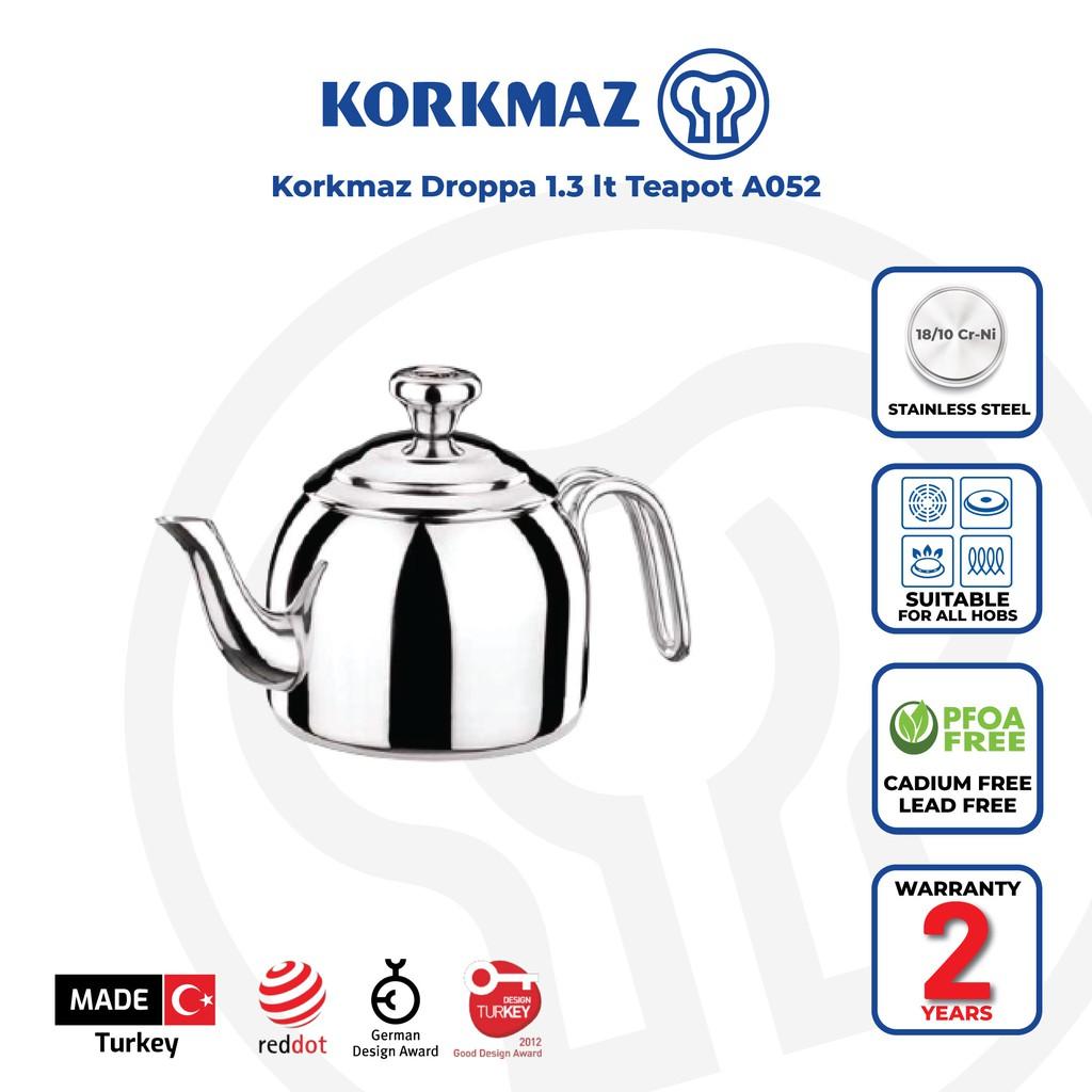 Korkmaz Droppa 1.3 lt Teapot A052