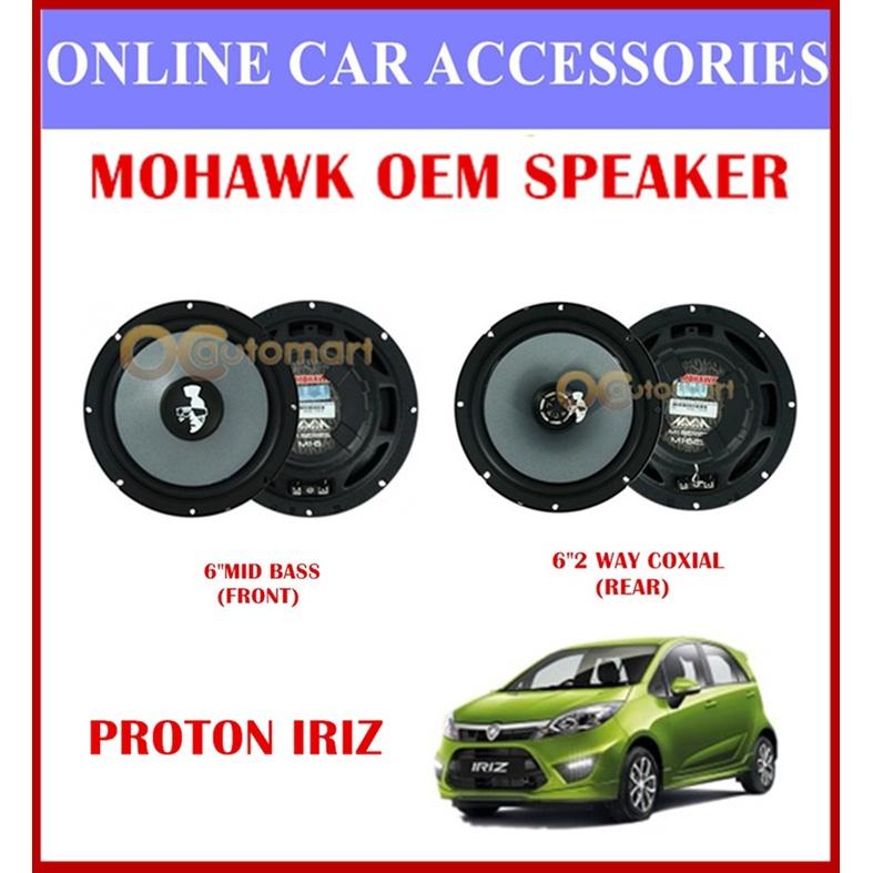 MOHAWK Universal Front & Rear Speaker For PROTON,PERODUA,TOYOTA,HONDA,NISSAN-(Proton Iriz)