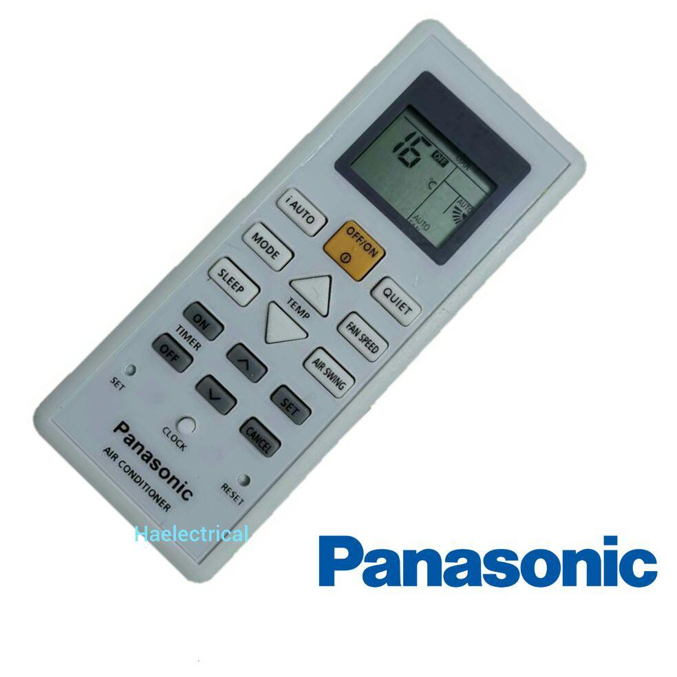 Panasonic air cond remote control