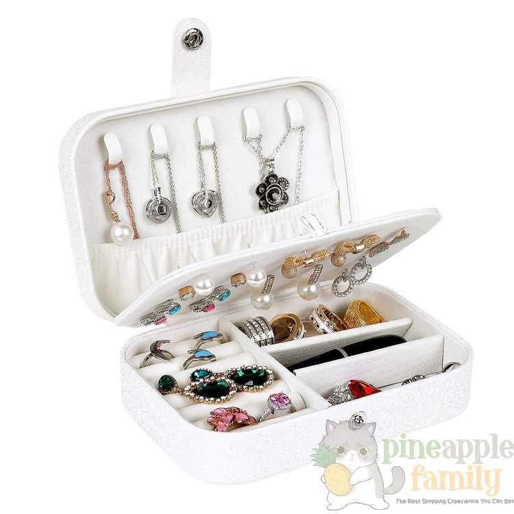 Transparent Acrylic Earrings Organizer Storage Box Desktop Accessories 192 Hooks 27 Necklaces or Bracelets Holder Display Box Jewelry Earring Stand