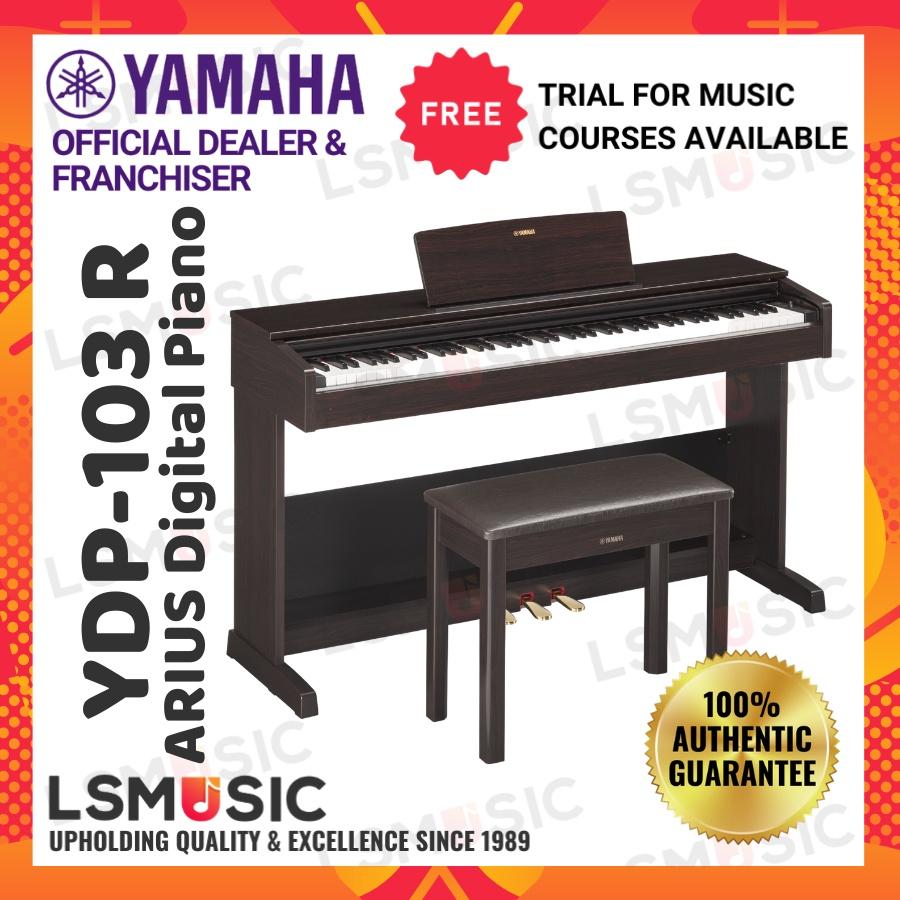 Yamaha Arius YDP-103 88-key Digital Piano Home Keyboard (YDP103 / YDP 103) Rosewood