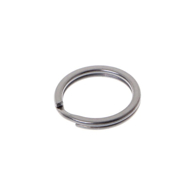 EDC Titanium Metal Key Ring Pocket Tool Mini Split Keychain Buckle Circle Clip