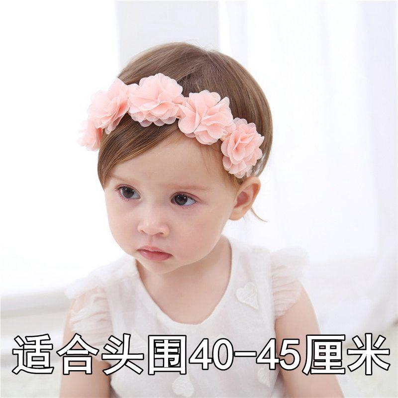 Baby Girls Headband Velvet Bow Head Elastic Band Kids Hair Accessories 0-4 Y