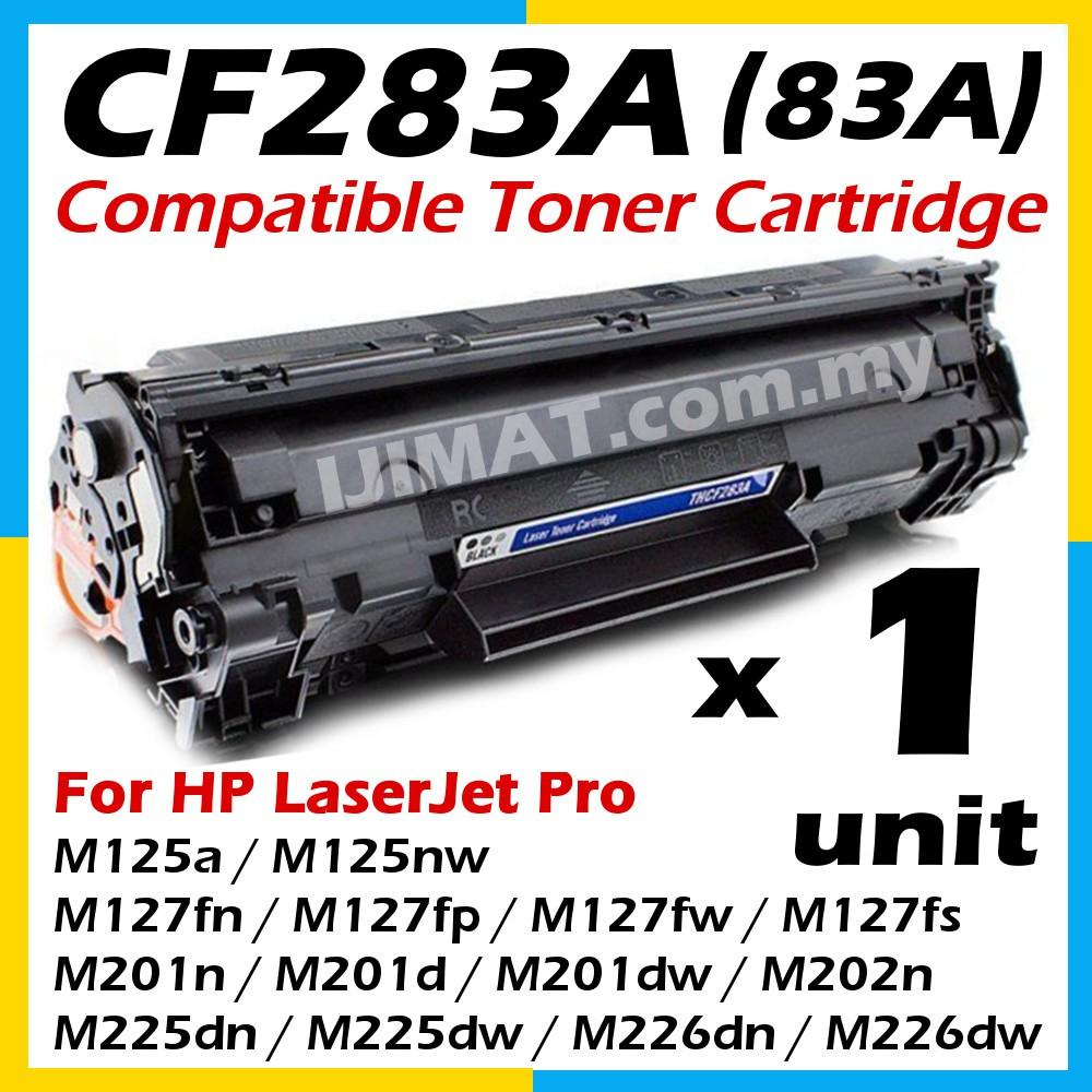HP CompatibleToner CF283A HP83A 83A CF283X LaserJet Pro M125 M127 M127fn  M201d M201dw M201n M202n M226dn M225dn M225dw