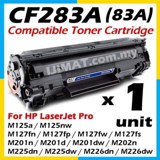 HP CF283A 83A Compatible Toner LaserJet Pro M201dw M201n MFP M125a M125nw  M127fn M127fs M127fw M225dn M225dw Printer Ink