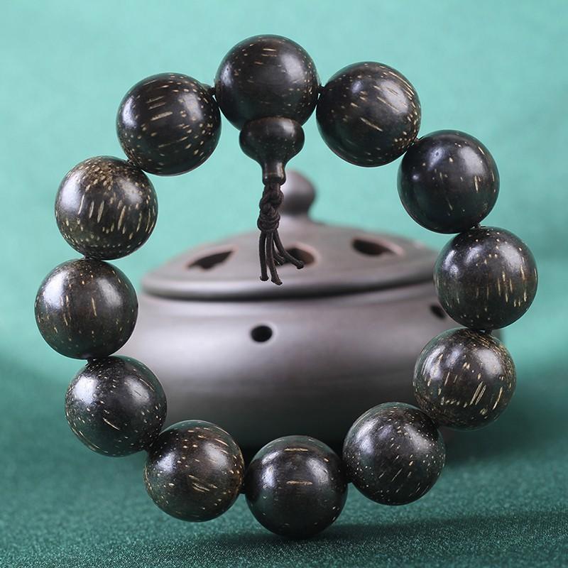 Nouveau 3 Rangée Femmes 8 mm Naturel Aquamarine Beads Stretch Tibetan Silver Bracelet