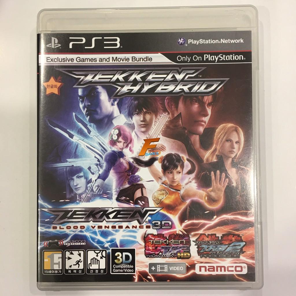 PS3 Tekken Hybrid แผ่นเกมส์ แท้ มือ 2 พร้อมคู่มือ ส