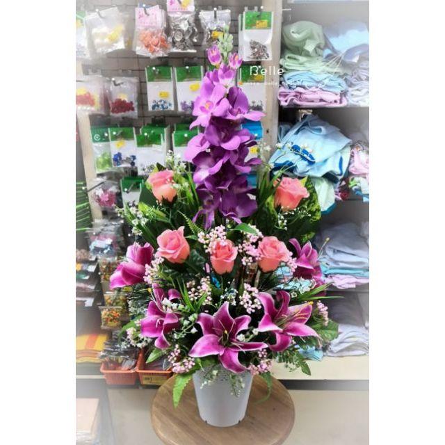 Gubahan Bunga Pasu Besar Desainrumahid Com