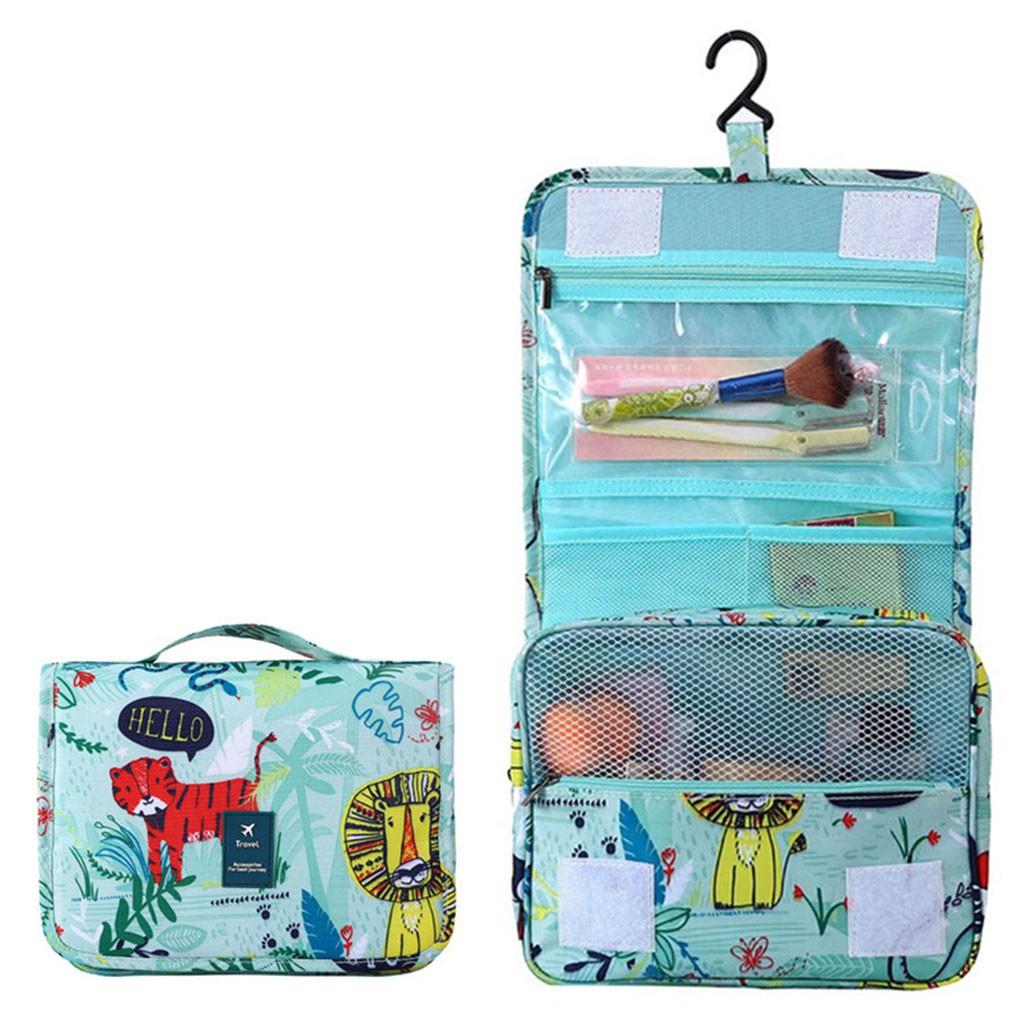3c884b1a6b5d J❤*Toiletry Bag Organizer Cosmetic Case Makeup Bag Portable Hanging ...