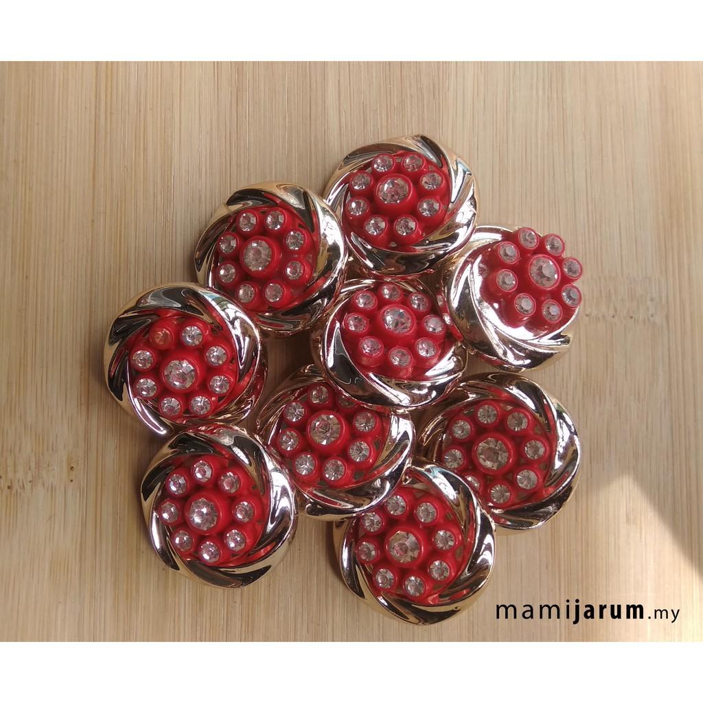 Butang Bunga  (blouse/lengan baju/butang baju kebaya) - BUT020