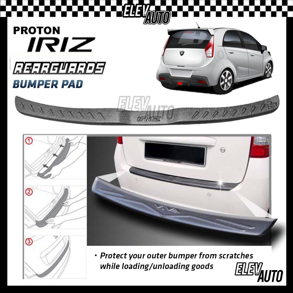 Proton Iriz MATTE BLACK Rear Bumper Guard Bumper Pad