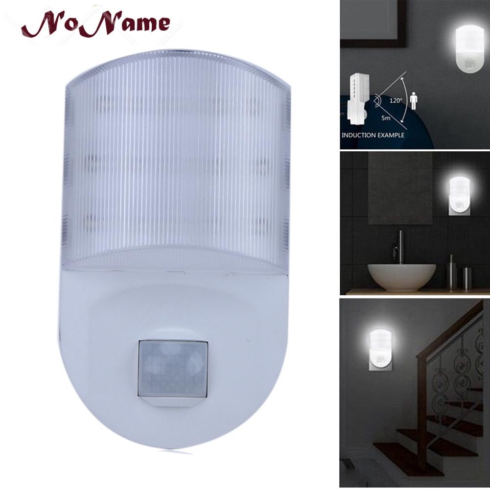 6 Led Motion Sensor Night Light USB Rechargeable Bedside Lights Wall Lamp 3 Mode