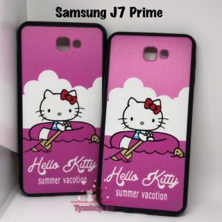 new product 48f1b c5c99 Samsung J7 Prime Hello Kitty Pinky Hard Case 360 Cover ♡
