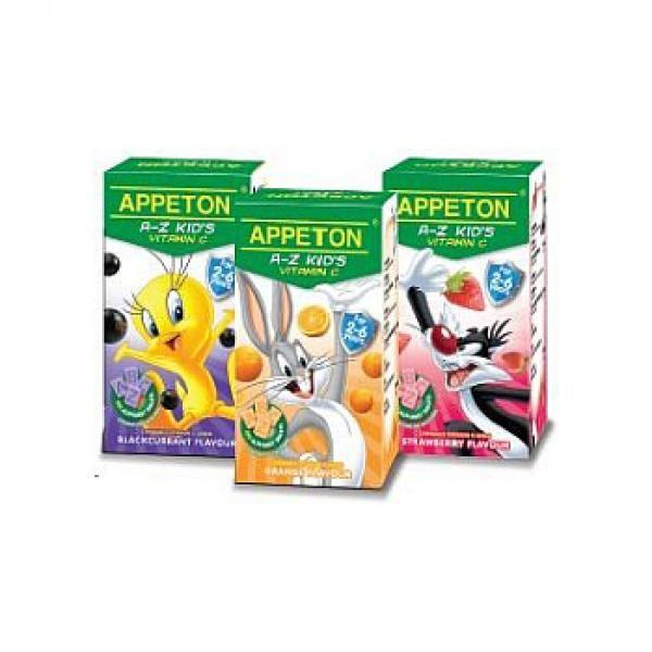 Appeton A-Z Kids Vitamin C - 3 Flavors 100S x 3