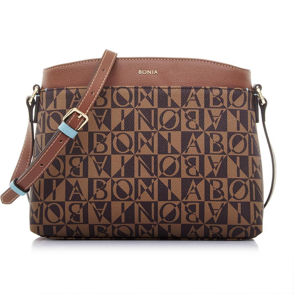 Bonia Monogram Crossbody Sling Bag