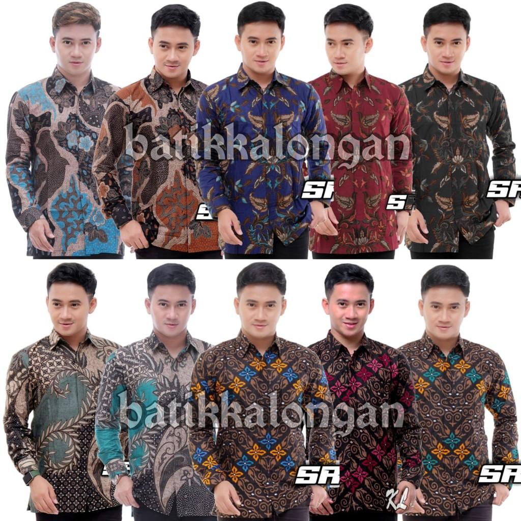 Batik KALONGAN   Batik Shirt Office M L XL XXL XXXL