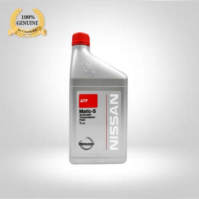 Nissan Automatic Transmission Fluids Matic-S 1 Litre 100% Genuine