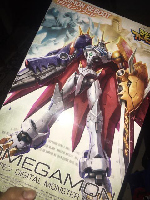 Bandai Digimon Omegamon Reboot 1/144 1 144 High Grade
