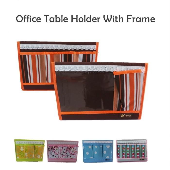 Folding Desk Storage With Frame