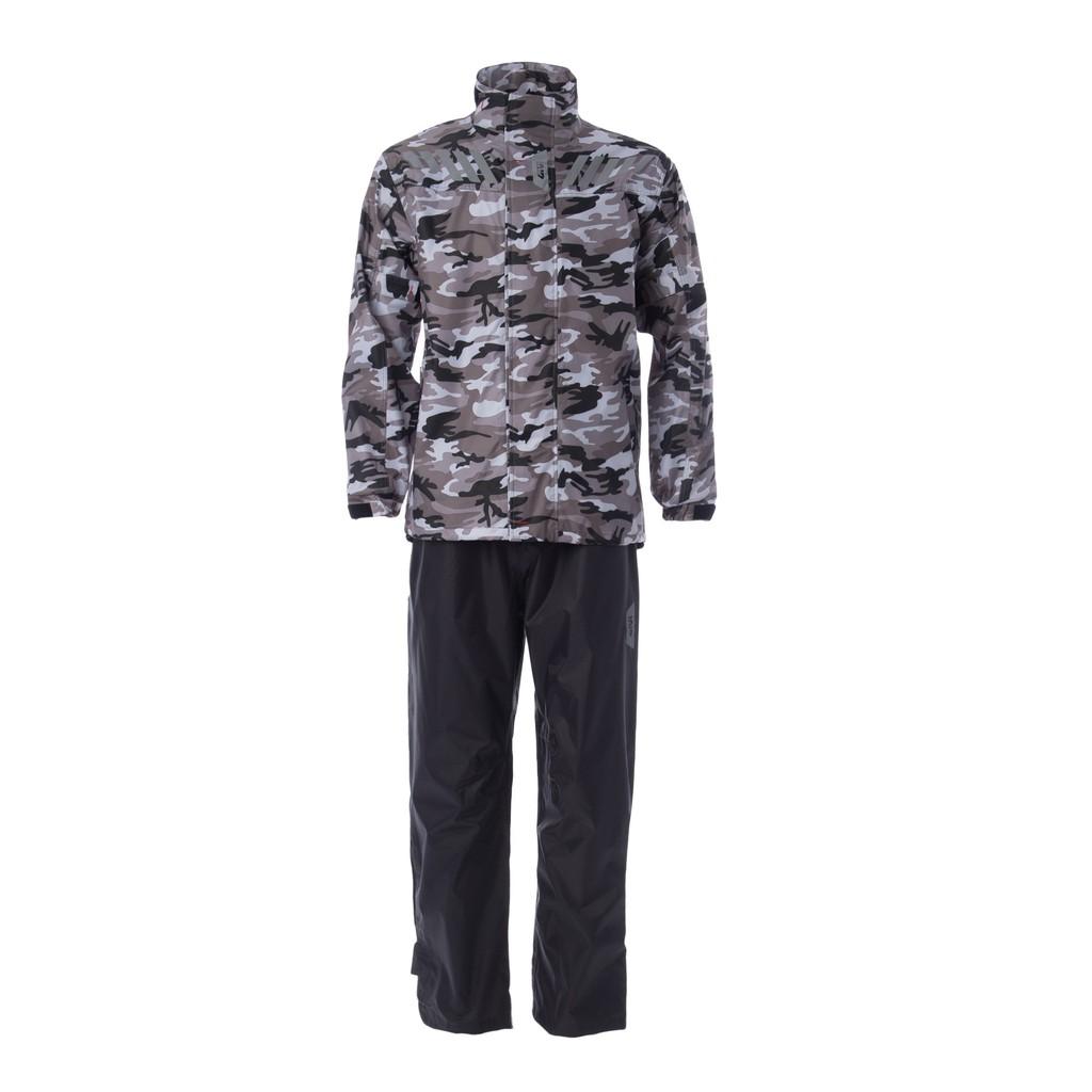 Raincoat GIVI CAM01 Camouflage Range Baju Hujan (Winter Soldier)