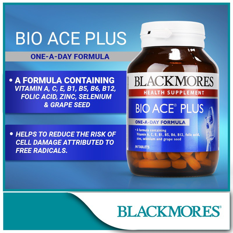 Blackmores Bio ACE Plus 30\'s / 90\'s / 2x90\'s *ready stock*