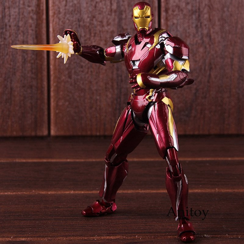 S.H.Figuarts Captain America Civil War Iron Man MK-46 Action Figure New In Box