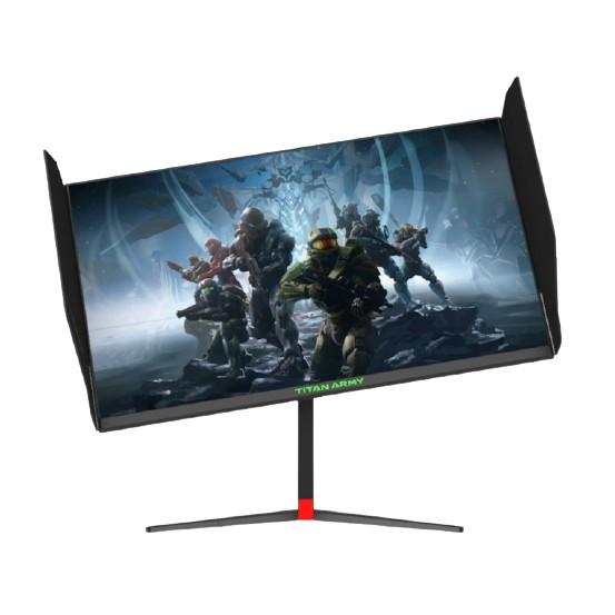 {T27UG} TITAN ARMY 27*IPS 4K 144HZ 1MS Rotatable Gaming Monitor (Black)