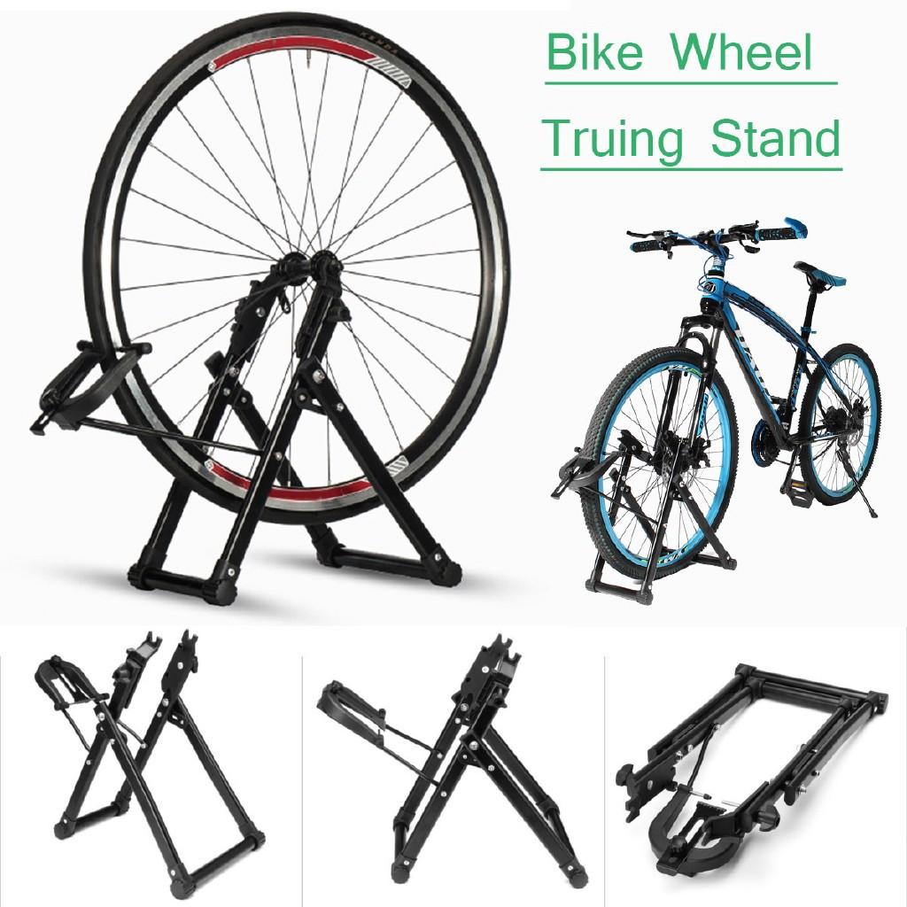 ROCKBROS Bike Kickstand Road Bike Portable Quick Release Axle Skewer Stand Black