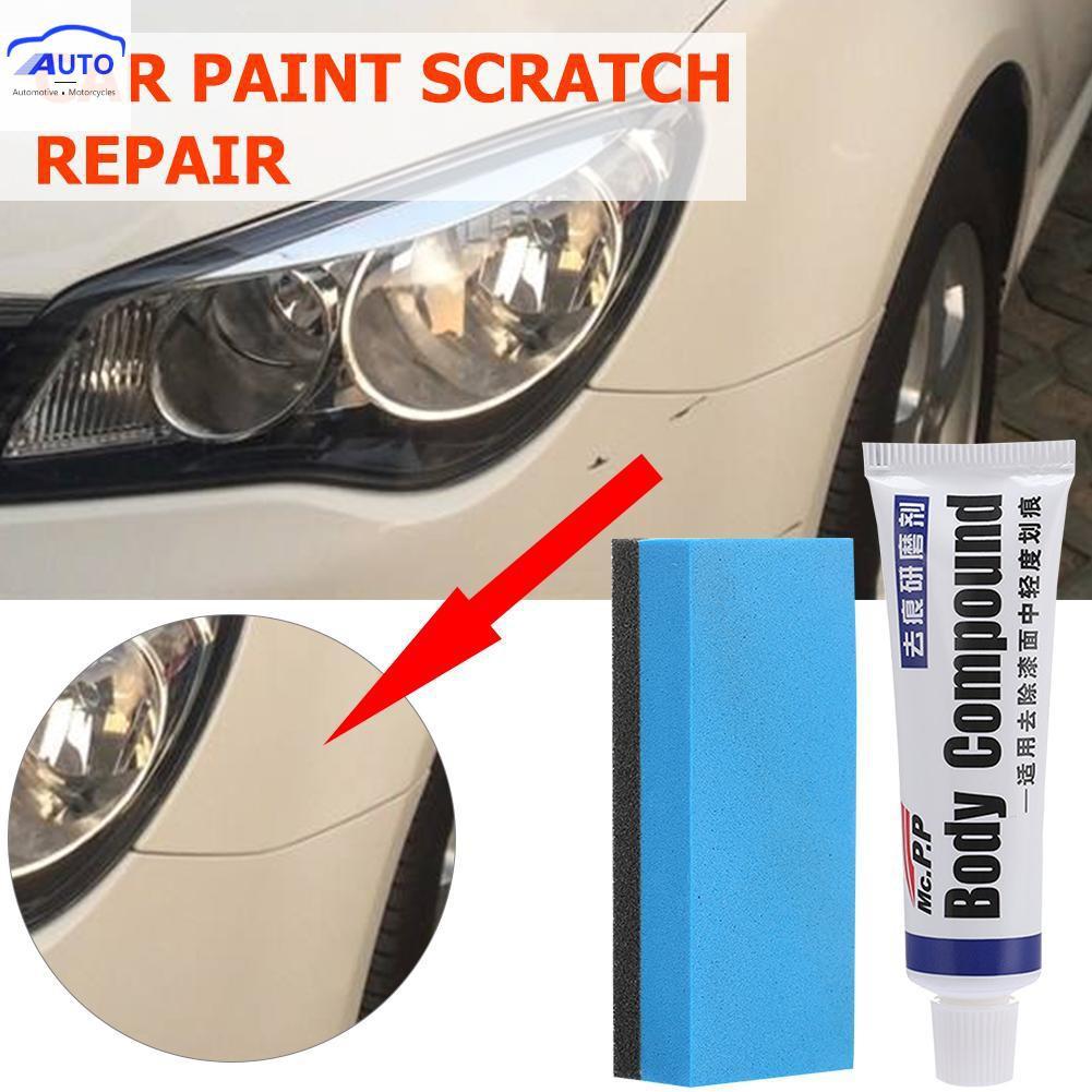 Ready Stock Car Scratch Repair Kit Auto Wax Polishing Grinding Paste Paint Care Set