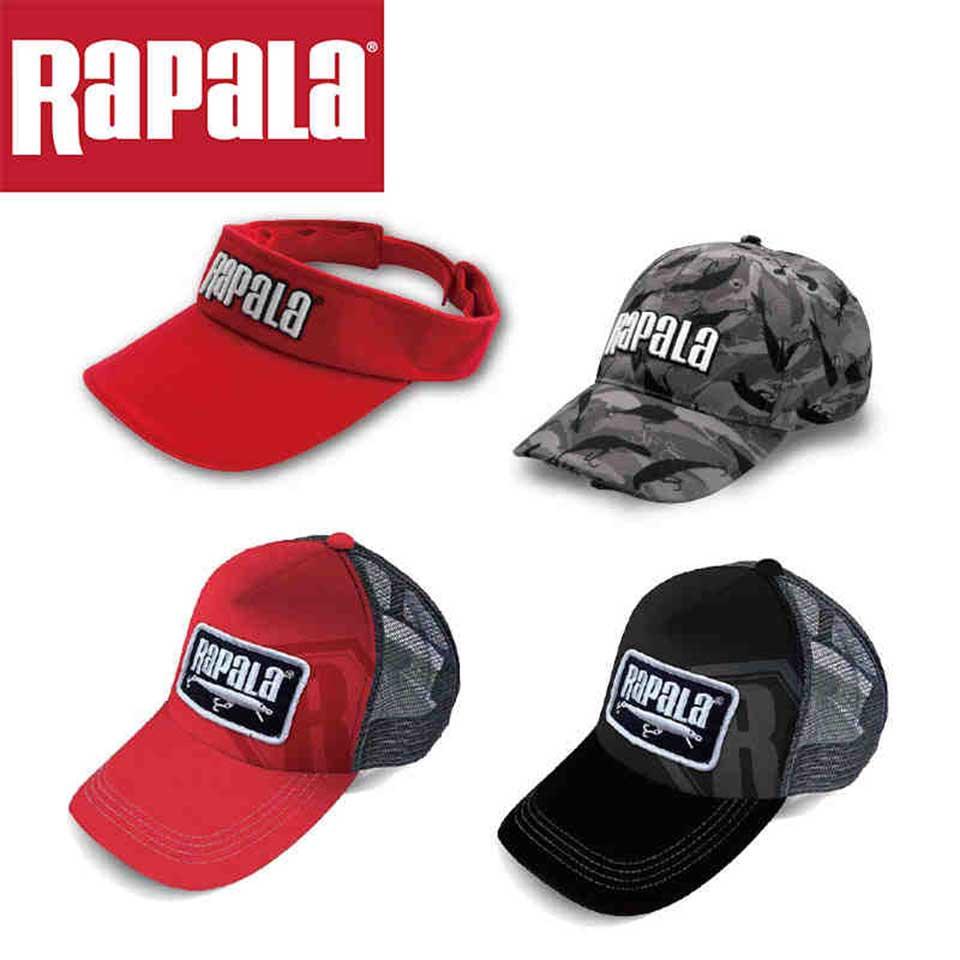 a8c2de07a RAPALA Fishing Hat fishing cap Breathable /led hat/Outdoor Sports Visor  Baseball Golf Cap Adjustable